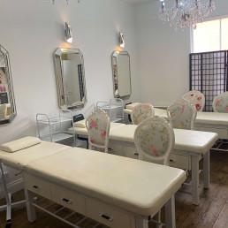Classroom at ATA Beauty Advanced Training Academy in Stowmarket, Suffolk
