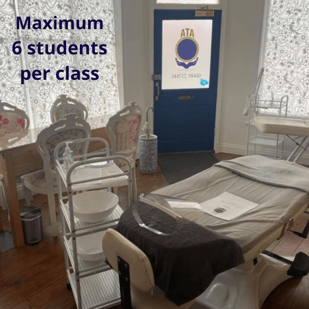 Training room at ATA Beauty Advanced Training Academy